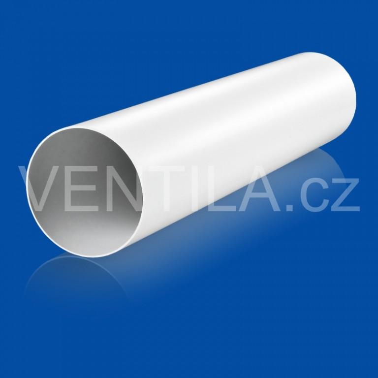 Kruhové plastové potrubí