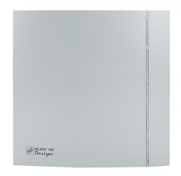Soler&Palau SILENT 100 DESIGN Swarovski Silver CZ tichý