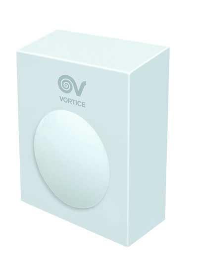 Nástěnný radiální ventilátor Vortice CA 200 WE D E