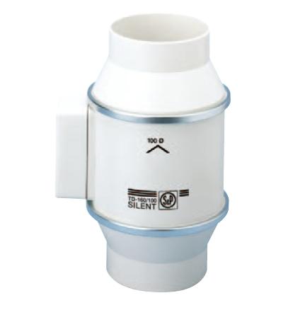 S&P TD 160/100 NT SILENT IP44 potrubní ventilátor s doběhem
