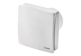 Ventilátor do koupelny s el. žaluzií ECA 100 ipro KH (Regulace vlhkosti)