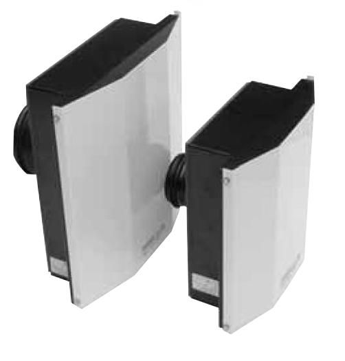 Venkovní nástěnný ventilátor S&P SWF-200