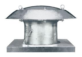 Axiální střešní ventilátor DZD 25/4 D
