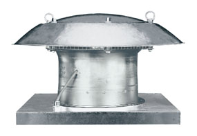 Axiální střešní ventilátor DZD 50/4 B