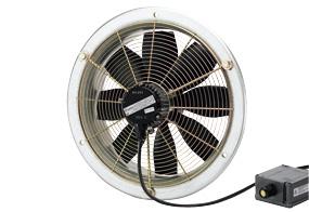Axiální nástěnný ventilátor DZS 20/2 B E Ex e