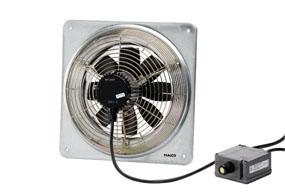 Axiální nástěnný ventilátor DZQ 25/4 B E Ex e
