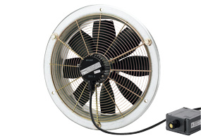 Axiální nástěnný ventilátor DZS 30/2 B E Ex e
