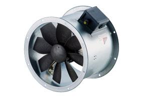 Axiální potrubní ventilátor DZR 20/2 B E Ex e