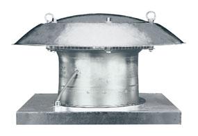 Axiální střešní ventilátor DZD 40/4 B E Ex e
