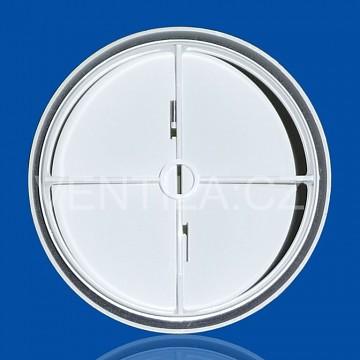 PVC zpětná klapka s pérkem vnitřní ZK Ø 120 mm