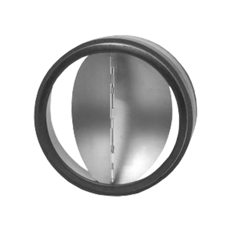 Zpětná klapka těsná s pérkem do potrubí Ø 160 mm / do potrubí