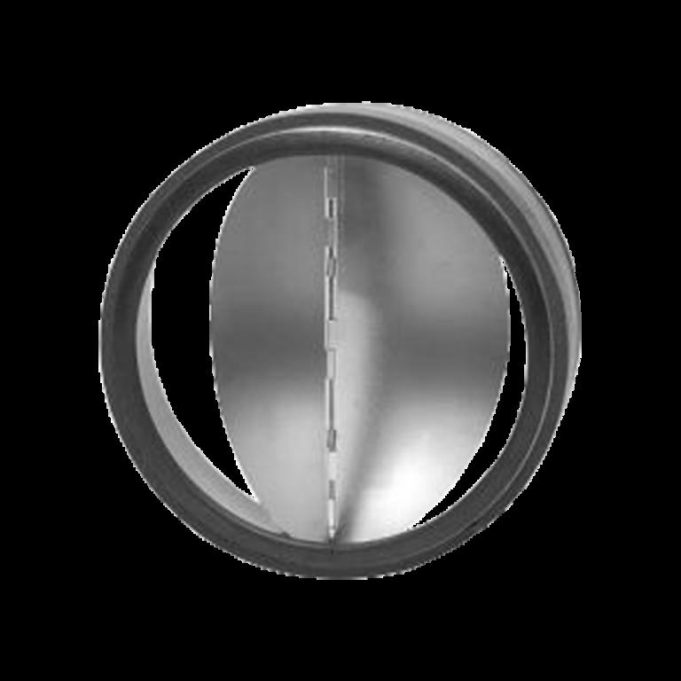 Zpětná klapka těsná s pérkem do potrubí Ø 125 mm / do potrubí