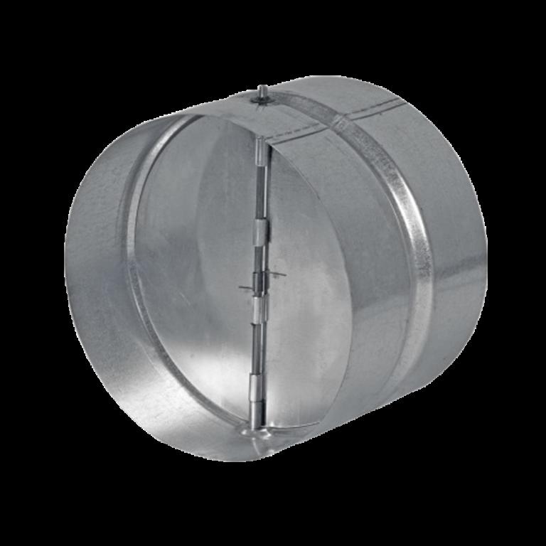 Zpětná klapka s pérkem DN 125 / spojka