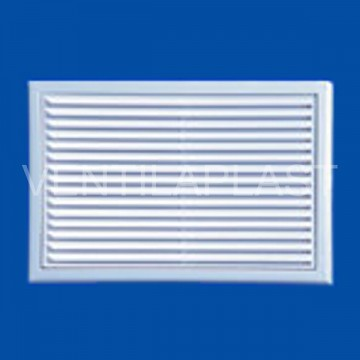 Plastová Ventilační mřížka VP MV 170 s (se síťkou)