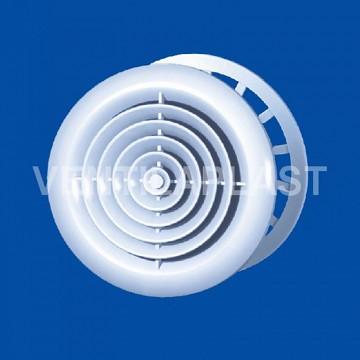 Plastový difuzor do stropu VP MV 150 PFs