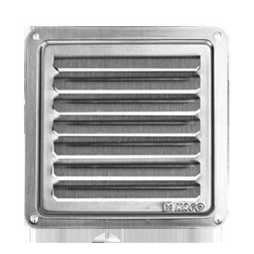 Čtyřhranné mřížky- krytka NVM 250 x 250 K
