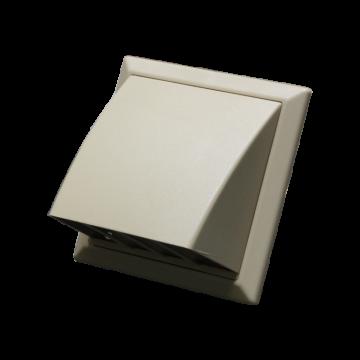 Větrací mřížka protidešťová béžová VP 100/154x154 HPMbz
