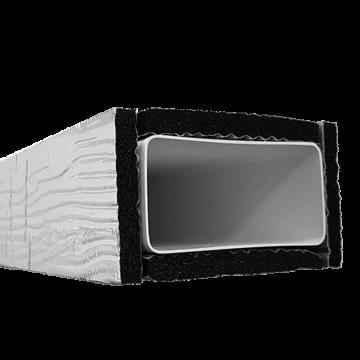 Izolace pro hranaté potrubí IZO 90x220/1500 HP