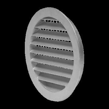 Mřížka kruhová hliníková se sítem