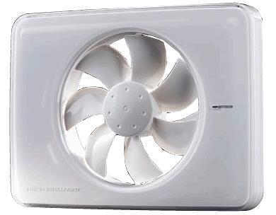 Tichý ventilátor Fresh Intellivent bílý
