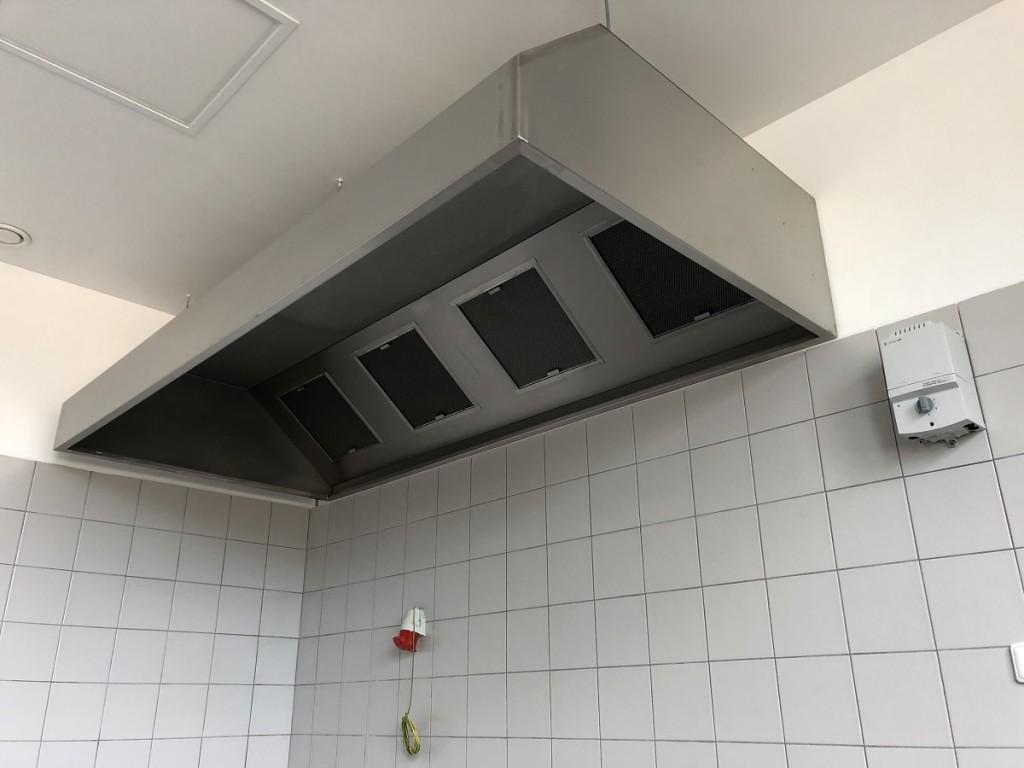 Gastro digestoř nástěnná 2600x800x450/400