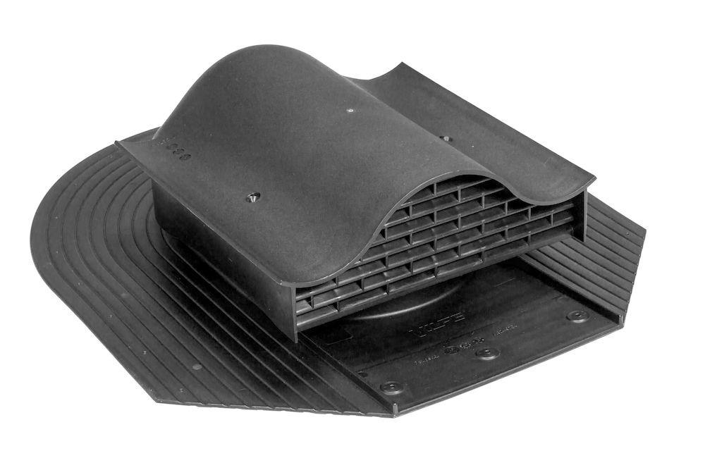 KTV ventilační prvek pro asfaltové pásy, černá RAL 9005