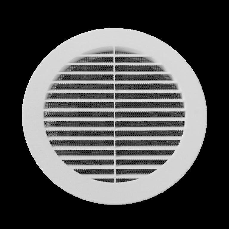 Ventila kruhová mřížka KPM 125