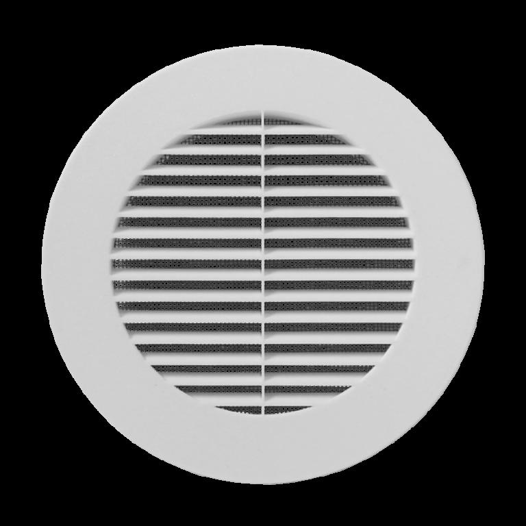Ventila kruhová mřížka KPM 160 MAX