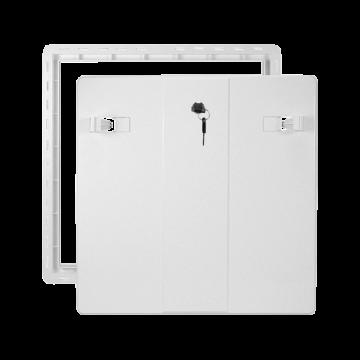 Koupelnová dvířka VP RD 400X400 Z B bílá se zámkem