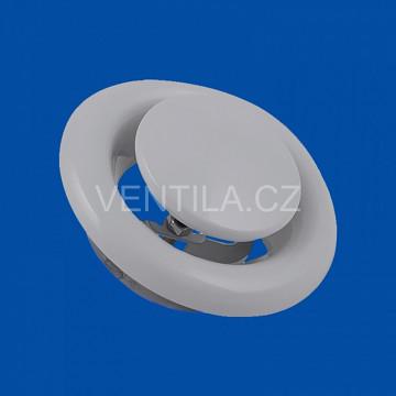 Kovový talířový ventil KKO Ø 160 odtah