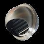 kovové kulaté protidešťové mřížky
